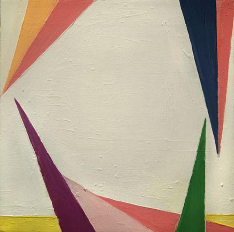 "David Aylsworth, <em>Moon of Alabama</em>, 2011. Oil on canvas, 14 x 14"""