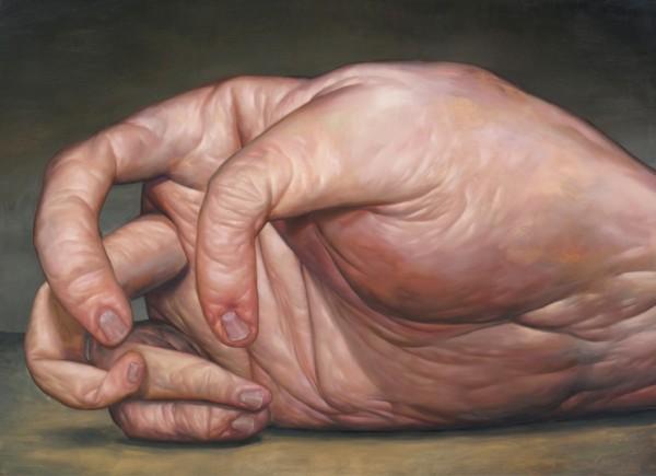 """Seth Alverson, <em>Useless Hand</em>, 2013. Oil on canvas, 40 x55"""""""
