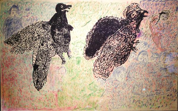 Ezekiel Gibbs, <em>Black Birds</em>