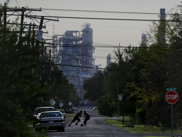 Port Arthur, Texas is the End of the Line for Oil That Would Travel Through the Proposed Keystone XL Pipeline