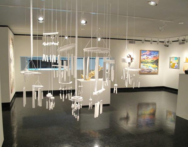 Laura Pregeant, <em>Places Unheard</em>, 2014 Mixed media, Dimensions variable