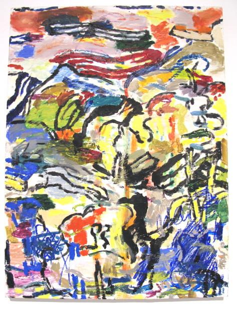 """<em>Untitled</em>2014. Oil on Panel, 16 x 14"""""""
