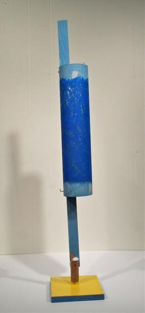Larry Graeber, Bird-after Brancusi, 2014. Wood, paint.