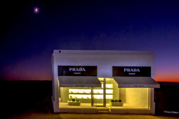 Image: Moon Over Prada, by Don Auderer
