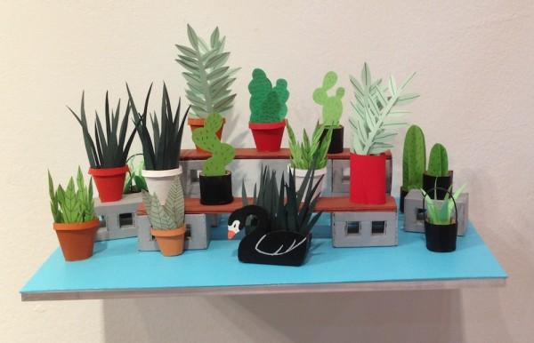 Ana Serrano at rice Gallery