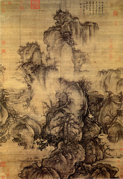 Guo Xi (ca. 1020-1090), Early Spring, dated 1072