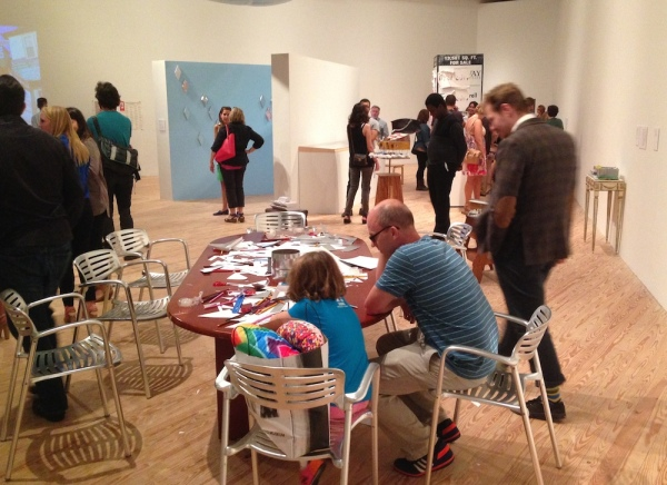 Create-a CAMH activity table a the opening reception