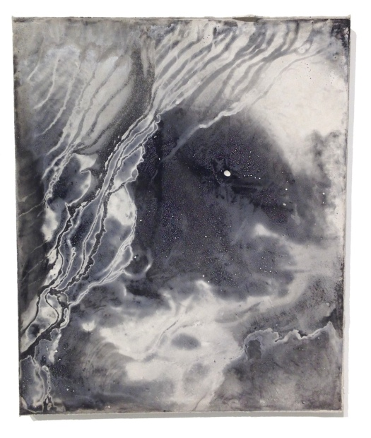 James Buss, Untitled , 2014. Relief ink and plaster