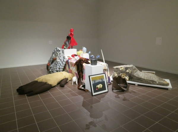 Celia Eberle: In the Garden of Ozymandias, installation view