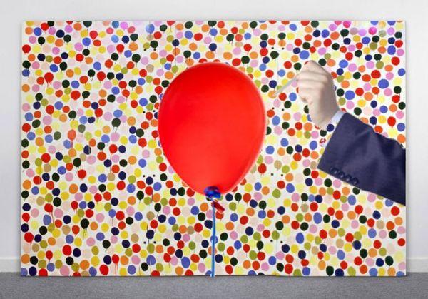 hirst balloon