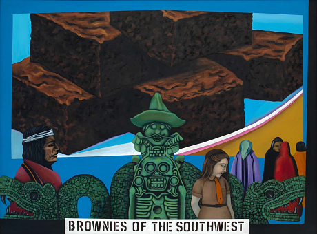 Humanscape 62 (Brownies of the Southwest), 1970
