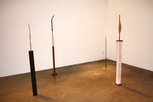Nick Barbee, CATO, 2012, Mixed media sculpture, cyanotypes, Dimensions variable