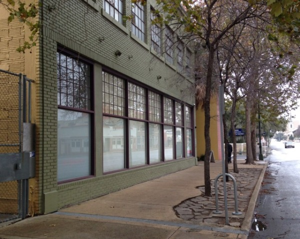 View of Artpace from North Main Avenue.