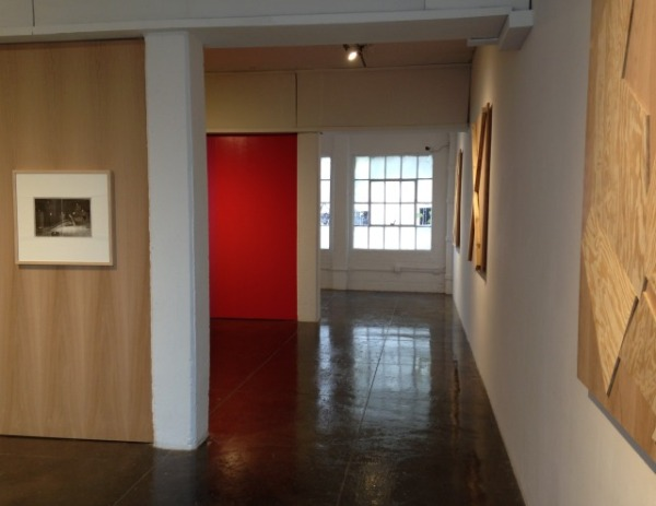 Upstairs gallery.