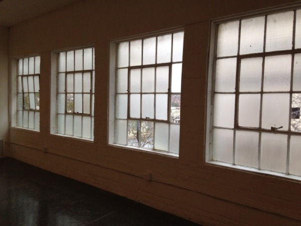 Gallery windows.