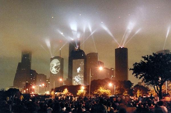 Rendezvous Houston, 1986. Photo by Patrick Burke via Wikipedia