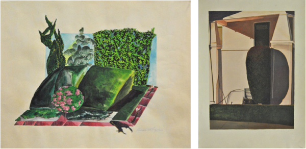 Susan Whyne, Untitled (Entrance #37), 1970-72 and Unititled (Entrance #56), 1974