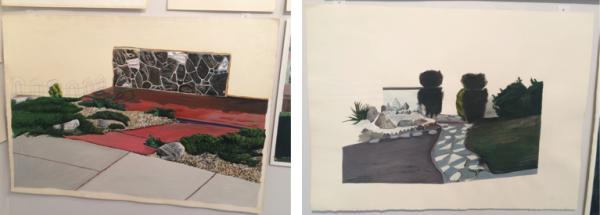 Susan Whyne. Untitled (Entrance #56), 1978 and Untitled (Entrance #60), 1975