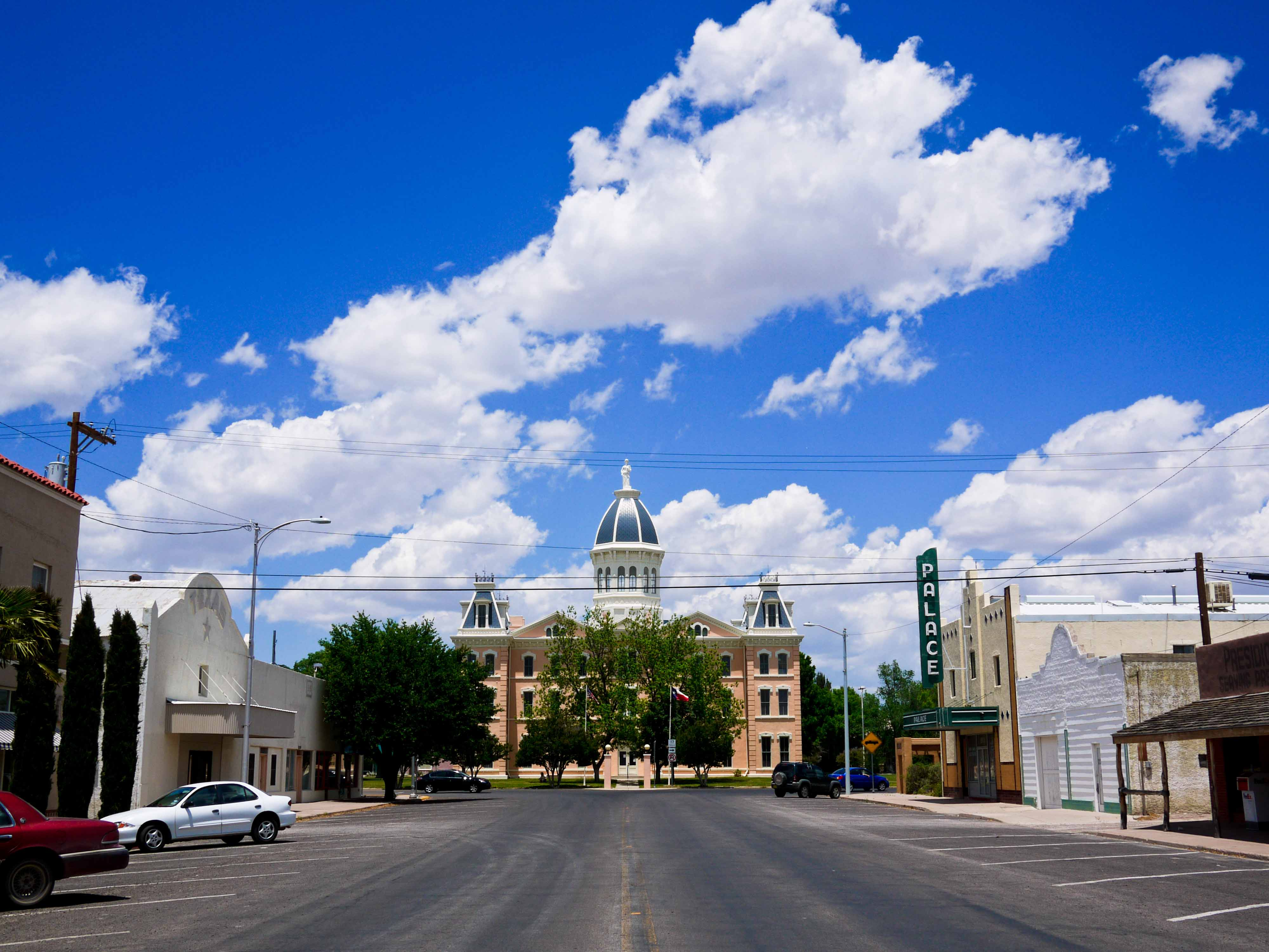 Marfa Tx Courthouse Downtown Dispatch From