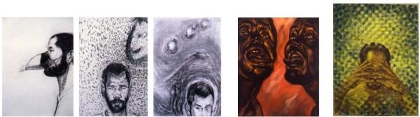 Rodriguez-Diaz Self Portraits 1