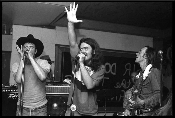 Jerry Jeff Walker, Roky Erickson, and Doug Sahm, 1977 at Gemini's Club, Austin