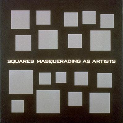 scott grieger, squares masquerading as artists