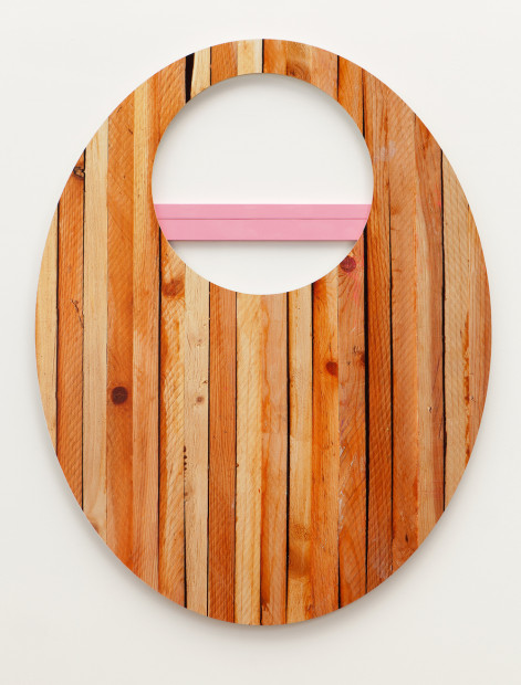 woodblocks with hole, 2015