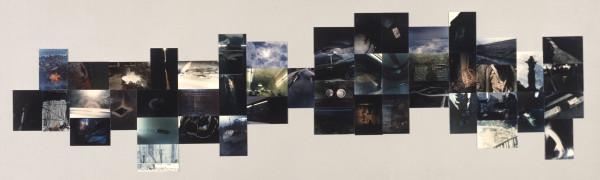 Takuma Nakahira, Overflow, 1974, chromogenic prints on panel, The National Museum of Modern Art, Tokyo.