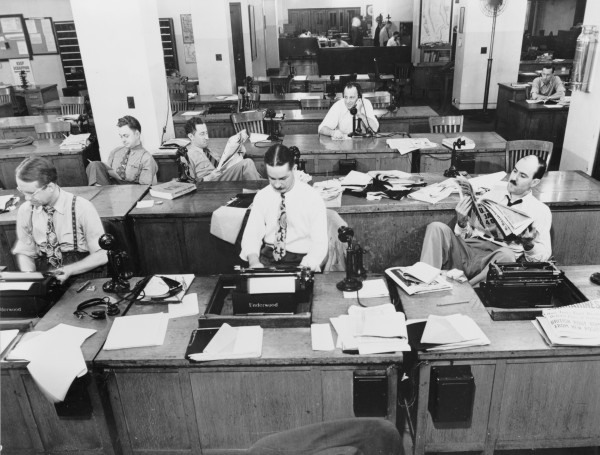 The_New_York_Times_newsroom_1942-1