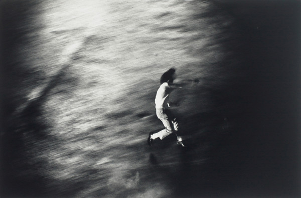 Shōmei Tōmatsu, Protest 1, from Oh ! Shinjuku, 1969, gelatin silver print, printed 1980, the Museum of Fine Arts, Houston, Museum purchase funded by the S. I. Morris Photography Endowment and Morris Weiner. © Shōmei Tōmatsu – INTERFACE