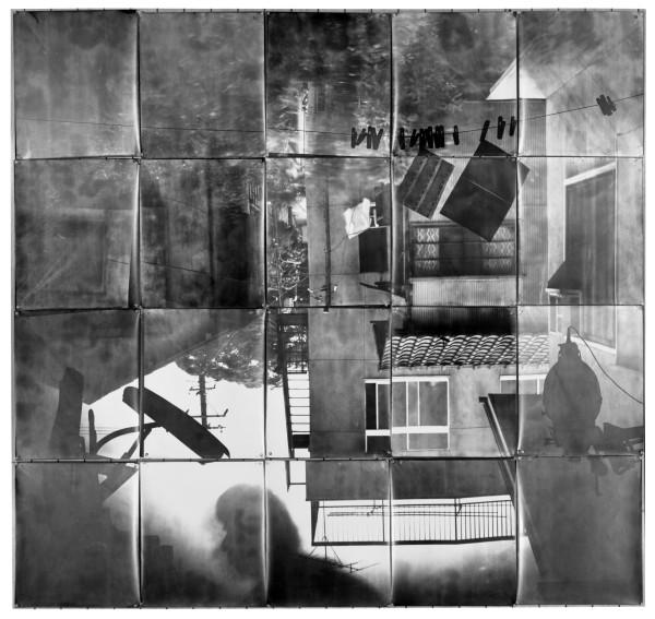 Nobuo Yamanaka, Pinhole Room Revolution 1, 1973, gelatin silver prints, the National Museum of Modern Art, Tokyo. © Nobuo Yamanaka