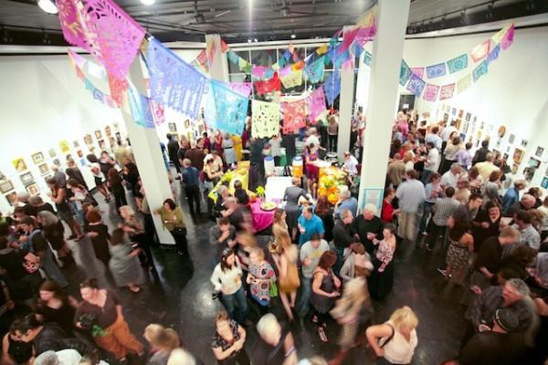 The annual Dia de los Muertos party at Lawndale