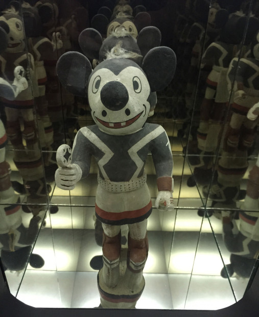 Disco Mickey Mouse Kachina Doll