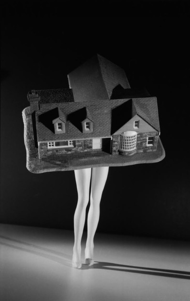 laurie simmons walking house