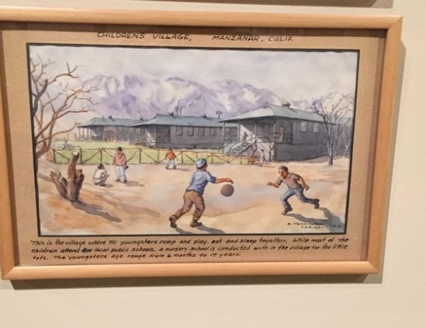 Children's Village Kango Takamura interned Manzanar California.