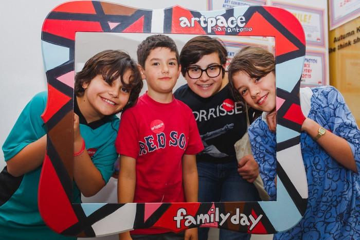 artpace family day frame