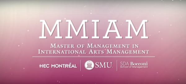 international arts management program