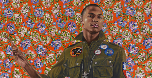 Kehinde Wiley (American, b. 1977). Anthony of Padua, 2013. Oil on canvas, 72 x 60 in. (182.9 x 152.4 cm). Seattle Art Museum; gift of the Contemporary Collectors Forum, 2013.8. © Kehinde Wiley. (Photo: Max Yawney, courtesy of Roberts & Tilton, Culver City, California)
