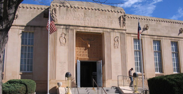 Panhandle-Plains_Historical_Museum_in_Canyon_Texas_USA event