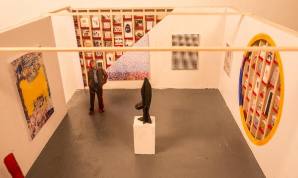 """Debtfair Proposal display at Momenta Art's """"Work it Out"""" via Occupy Museums"""