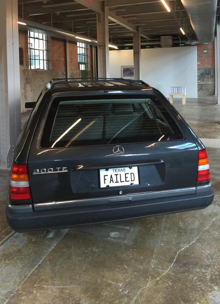 Jill Magid, Failed States, 2011. Armored car with sound.