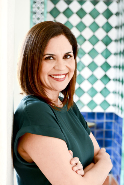 MCA Santa Barbara Executive Director Miki Garcia. Photo credit Jenn Kennedy, Kennedypix.com.