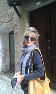 Meredith Wilson in Dolceacqua, Italy, April 2015. Photo via Facebook