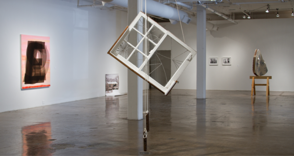 Installation shot of the 'Everyday is Ordinary' exhibition at Blue Star Contemporary Art Museum, 2015