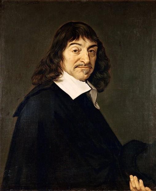 René Descartes by Frans Hals, 1648
