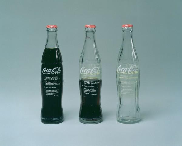 From International Pop: Cildo Meireles, Insertions into Ideological Circuits: Coca-Cola Project (Inserções em Circuitos Ideológicos: Projeto Coca-Cola), 1970