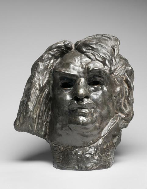 Auguste Rodin, Colossal Head of Balzac. Modeled 1898; cast 1925. Bronze. Rodin Museum, Paris.