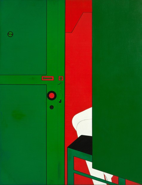 From International Pop: Wanda Pimentel, Untitled - Série Envolvimento, 1968