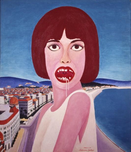 From International Pop: Tadanori Yokoo, Slavor, 1966