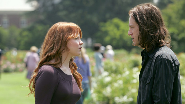 Claire and her art school boyfriend, Russell, from HBO's Six Feet Under